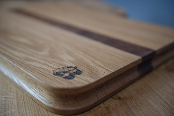 Oak Ash & Walnut Chopping Board