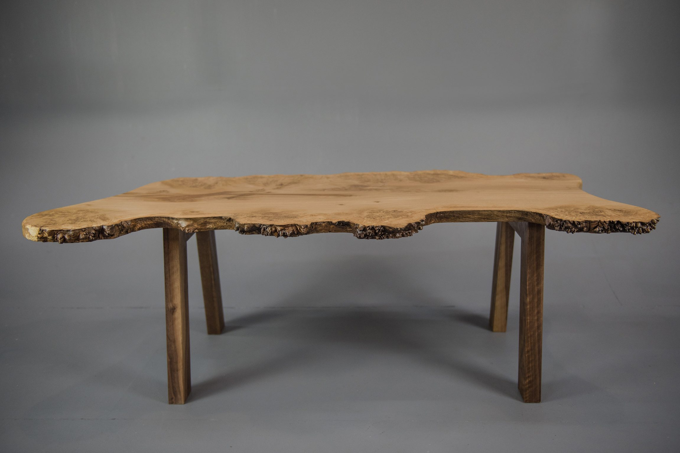 Burr Oak Live Coffee Table