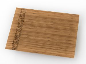 Oriental Bamboo Chopping Board